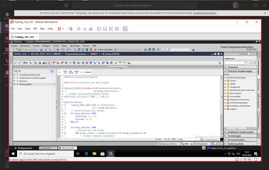 TIA SCL in Microsoft Teams