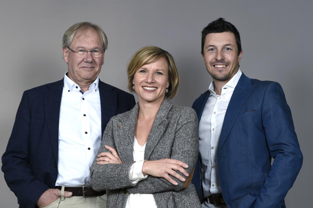 Geschäftsleitung CTE Peter Bürgin Sabrina Bätschmann Andreas Langer