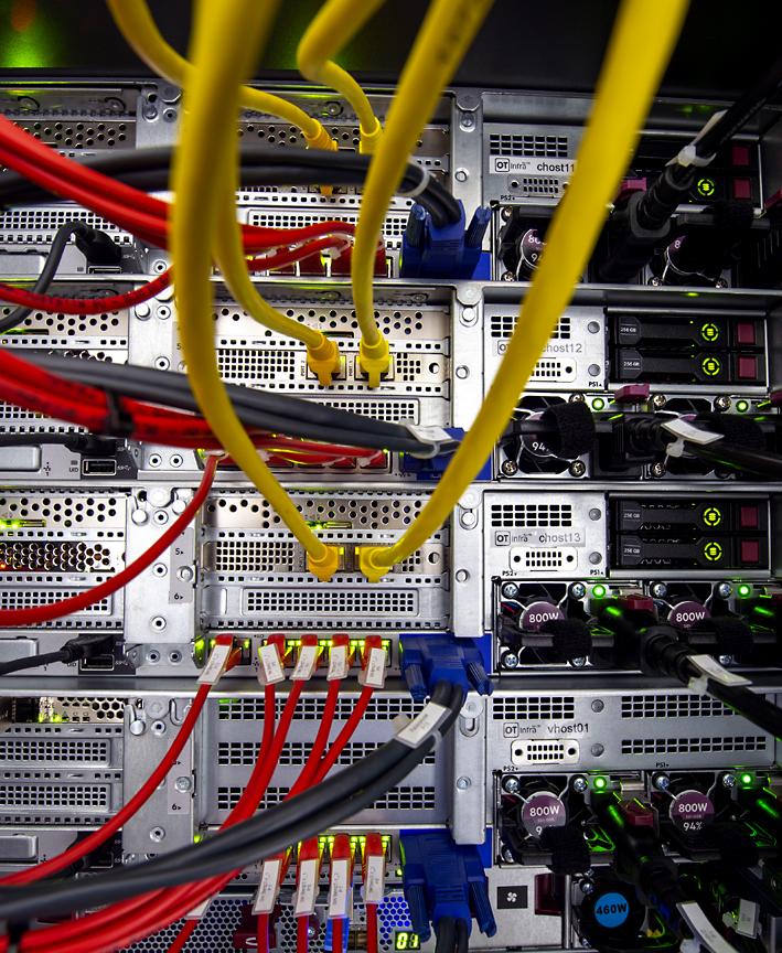 IT-Netzwerk Serverschrank